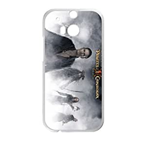 orlando bloom pirates of the caribbean at worlds end HTC One M8 Cell Phone Case White Custom Made pp7gy_3356065