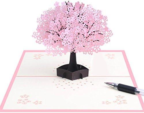 Amazon.com: Tarjetas de felicitación 3D, loto, flores ...