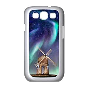 The Aurora Borealis Personalized Cover Case with Hard Shell Protection for Samsung Galaxy S3 I9300 Case lxa#379721