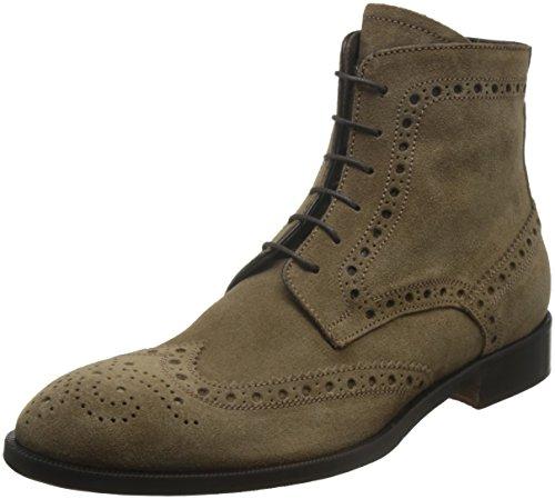 Gordon Rusa Mens Peters Chukka Boots Taupe Mocka