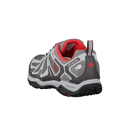 Columbia Peakfreak Xcrsn Ii Xcel Low Outdry, Zapatillas de Deporte para Exterior para Mujer, Gris Gris (Ti Grey Steel/ Sunset Red)