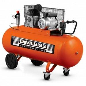 DEVILBISS Compresor De Aire Marca Lente rãservoir de 150 L motor de 3 CV monophasã ABAC: Amazon.es: Bricolaje y herramientas