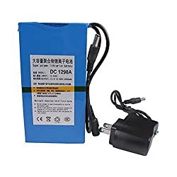 Fashion Outlet Super Power New Dc 12v Portable 9800mah Li-ion Rechargeable Battery Pack