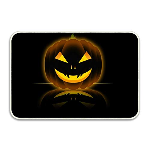 Elvira Jasper Entrance Mat Halloween GIF Doormat Decorative Welcome Mats for Front Door Rug Non Slip -