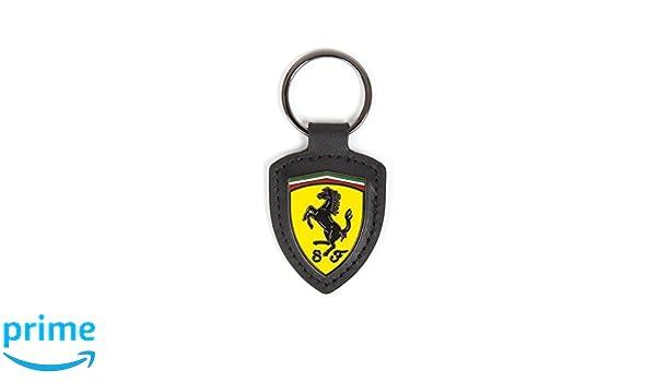 Scuderia Ferrari Llavero Scudetto Cuero: Amazon.es: Deportes ...