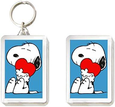 Sconosciuto Llavero y Imán Snoopy: Amazon.es: Juguetes y juegos