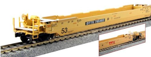 Double Stack Well Car (Kato Gunderson Maxi-IV Double Stack Car TTX New Logo #765122 DTTX HO Scale)