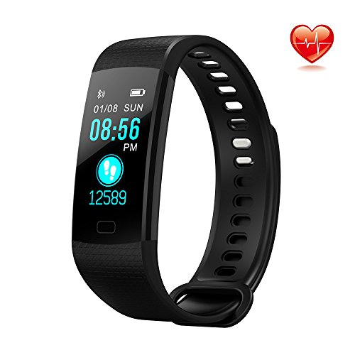 US Fast Shipment Tuscom IP65 Sports Waterproof Fitness Smart Watch, Activity Heart Rate Tracker Blood Pressure Watch,for Android and Apple