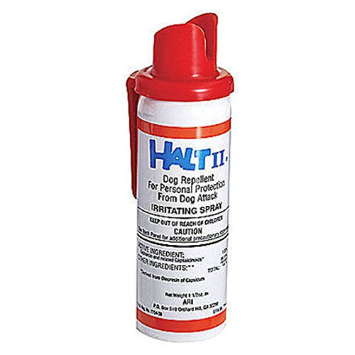 Halt II Dog Repellent Spray Repeller 1.5 oz Personal Protector Stop Agressive Dog Attack