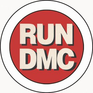 run dmc logo 1 5 pinback button amazon co uk kitchen home rh amazon co uk run dmc logo font generator run dmc logo font name