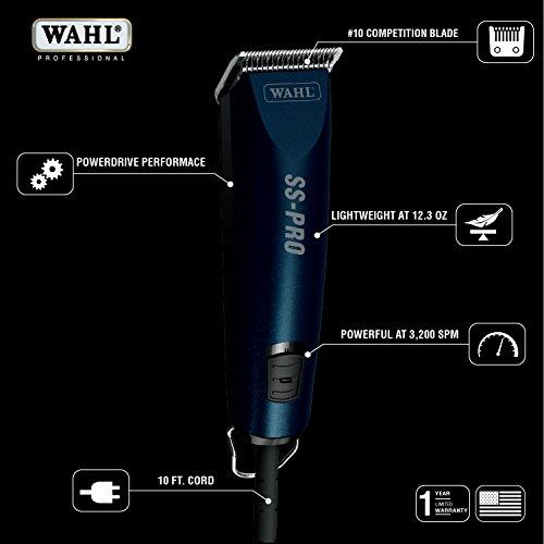Wahl Professional Animal SS Pro Pet Dog Clipper Kit by Wahl Professional Animal (Image #1)