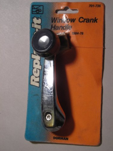 Replace-It Window Crank Handle 701-736 Chrysler Corp 1978 to 1984