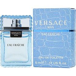 Versace Man by Versace Mens Mini Eau Fraiche .17 oz