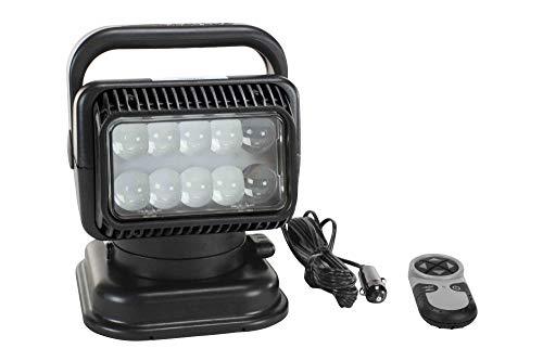 79514 Golight Wireless Remote Control LED Spotlight – 900′ Beam – 36 watt High Power LED – Mag Mount Review