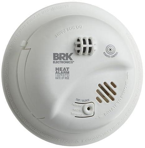 Amazon.com: BRK marcas hd6135fb Hardwire Alarma de calor con ...