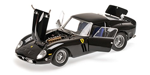 1962 Ferrari 250 GTO Black High End 1/18 Diecast Model Car Kyosho (1962 Ferrari 250 Gto)