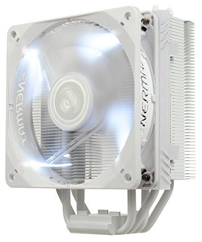 ENERMAX ETS-T40F-W 120mm Twister Aluminum 120mm White CPU Co
