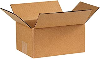 "product image for Partners Brand P753 Corrugated Boxes, 7""L x 5""W x 3""H, Kraft (Pack of 25)"