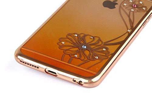 Funda para Galaxy Note 3, Galaxy Note 3 Silicona Funda Transparente Carcasa con Bling diamante, Galaxy Note 3 Funda Flexible Gel Protector Silicona Caso Parachoques Bumper, Galaxy Note 3 Slim Silicone loto amarillo