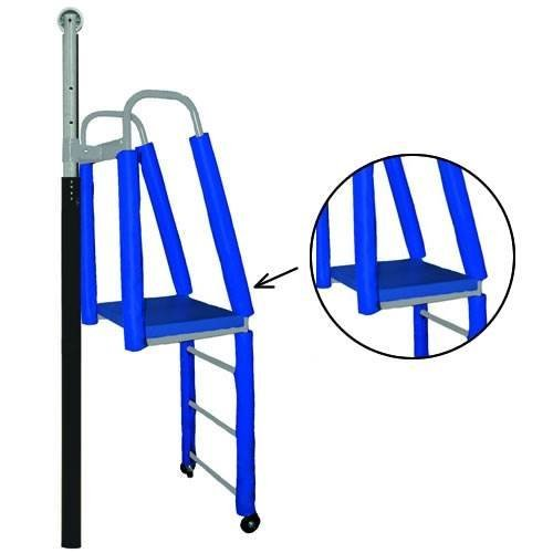 Jaypro Sports Adjustable Referee Stand Pad in Blue and Black