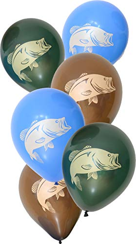 Gone Fishin' Party Balloons (12
