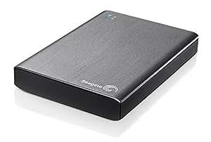 """Seagate Wireless Plus STCK1000200 Disco duro externo portátil sin cables 1 TB (6.4 cm (2.5""""), USB 3.0) color plata"""