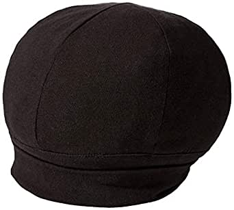 Hats for You Women's Flapper Chemo Cap with Flower, Black, One Size