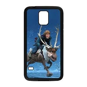 Samsung Galaxy S5 Cell Phone Case Black ac21 frozen running kristoff disney GY9206953
