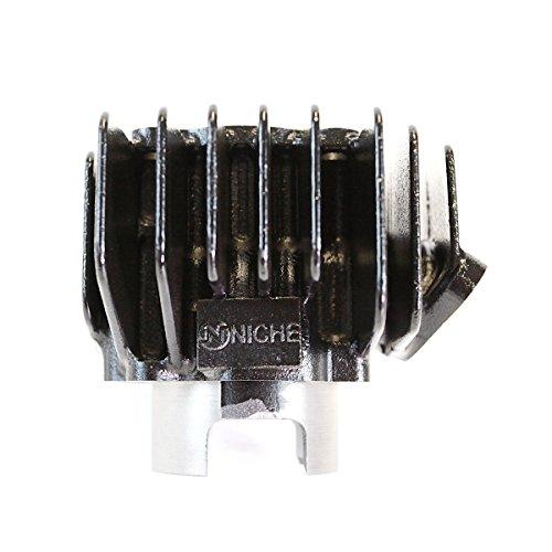 NICHE Cylinder Piston Gasket Cylinder Head Kit for Yamaha QT50 60cc Big  Bore 1979-1987