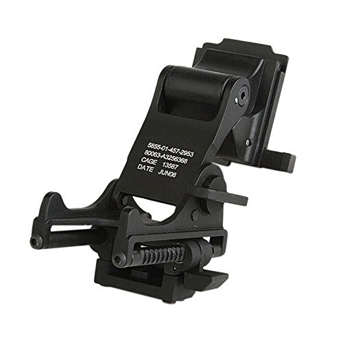 Wildoor NVG Rhino Mount for Fast MICH M88 Tactical Helmet Night Vision Goggles Flip Up Mount Kit for PSV-7 (Night Vision Helmet Mount)