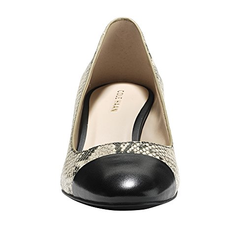 Cole Haan Dawna Grand Pump 55mm Roccia Serpente Stampa-nero