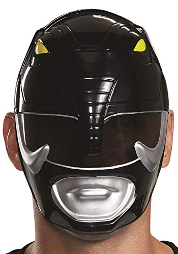 Disguise Men's Black Ranger Adult Mask, One Size]()
