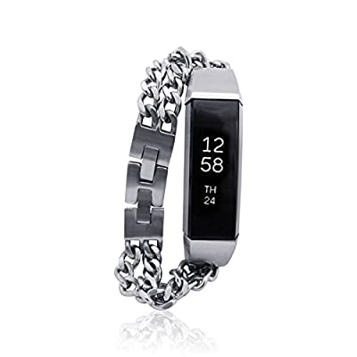 Fitbit Alta Bracelet NOE - stainless steel - Jewelry for Fitbit Alta - Fitbit Alta Band - Fitbit Alta Accessories - Fitbit Alta replacement band (No Tracker)