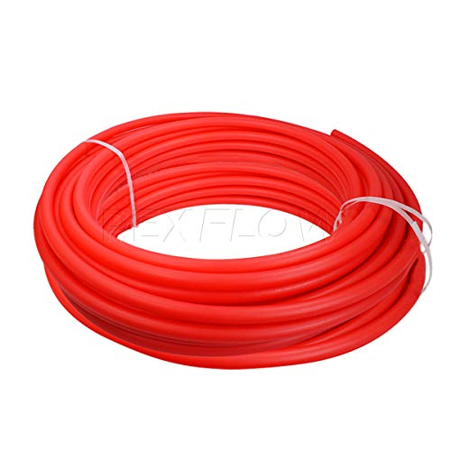 Pexflow PFW-R12500 Potable Water Pex tubing, 500 ft, Red