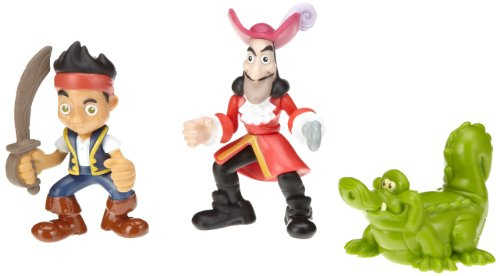 Fisher-Price Disney's Jake and The Never Land Pirates - Jake, Hook and Croc Pirate Pack (Peter Pan Jake And The Neverland Pirates)