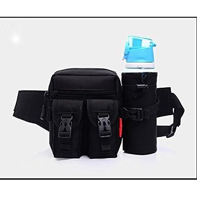 ZYT Sac à outils perdue vélo bouteille d'eau poches taille sac voyage sac pour hommes et femmes à l'extérieur