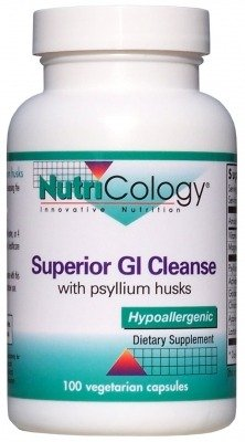 Nutricology Superior GI Cleanse, Vegicaps, 100-Count