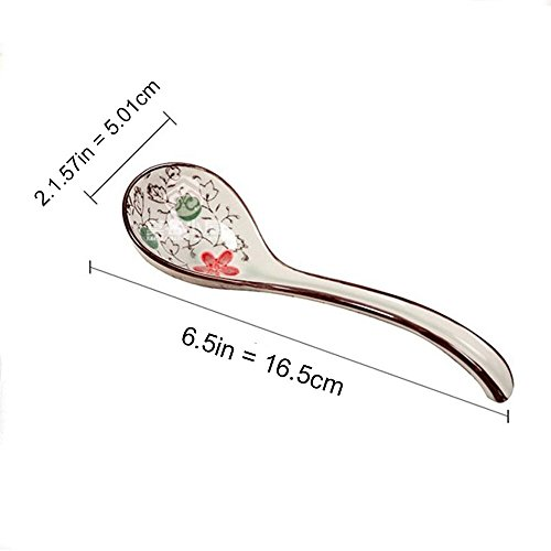 XDOBO Long handle Hook Spoon Soup Spoon Hand-crafted Tableware by xdobo (Image #5)