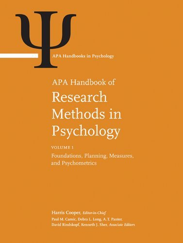 APA Handbook of Research Methods in Psychology