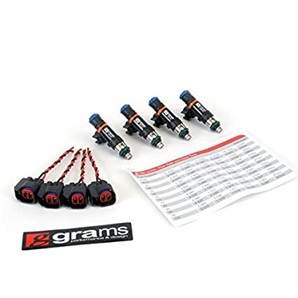 Grams(G2-0550-0501)550cc Honda/Acura K Series (Civic, RSX, TSX), D17, 06+  S2000 Fuel Injector Kit