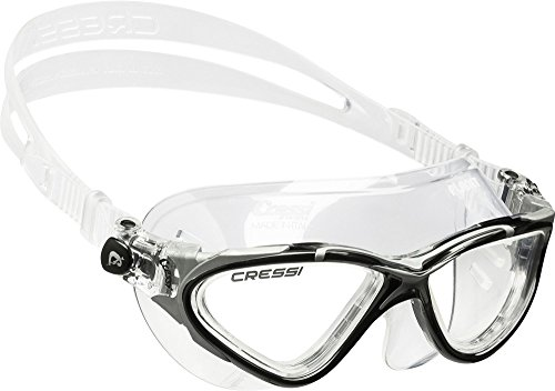 Cressi Planet, clear-black/silver, clear ()