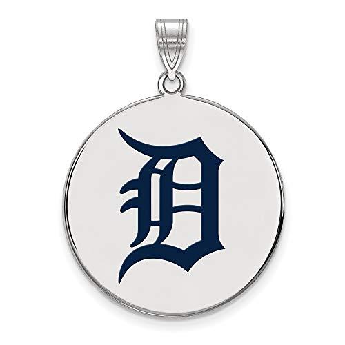 (Kira Riley MLB Detroit Tigers Extra Large Enamel Disc Pendan)