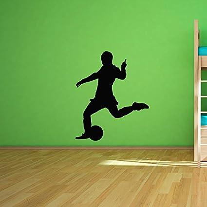 Amazon.com: calcomanía decorativo para pared Fútbol 10 ...