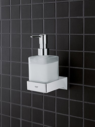 GROHE 40865000 Selection Cube Holder f.Glass/Dish/disp, Starlight Chrome by GROHE (Image #2)