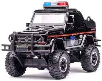 LIFE高シミュレーション 1/32 4 × 4 G500 コンバーチブルオフロード合金車モデル音ライト車子供おもちゃの車 おもちゃの車のる