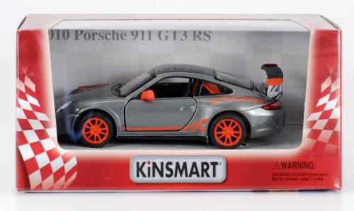 2010 Porsche 911 GT3 RS 1:36 Scale (Grey) (Porsche 2010 Gt3)