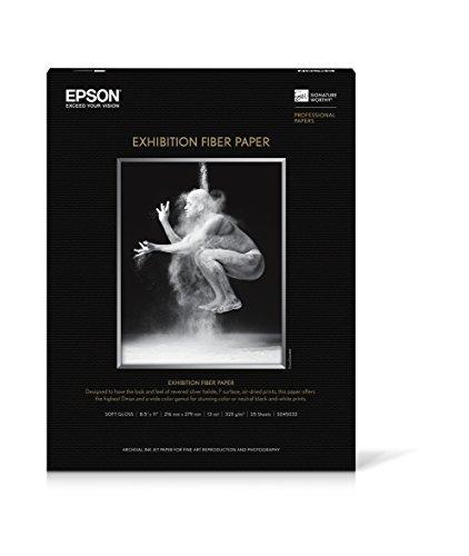 Epson Paper, Exhibition Fiber Paper, 8.5 - Fiber Exhibition Paper