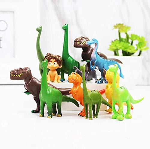 Disney Pixar Dinosaur Mini Action Figures。12pcs Dinosaur Cake Topper, Cake Decoration, Birthday Party Supplies, Game Toy Party Collection]()
