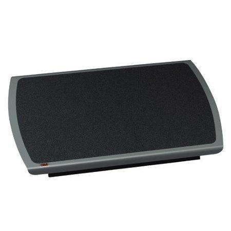 "3m Ergonomic Adjustable Footrest - Non-skid - 4.75"" Adjustme"