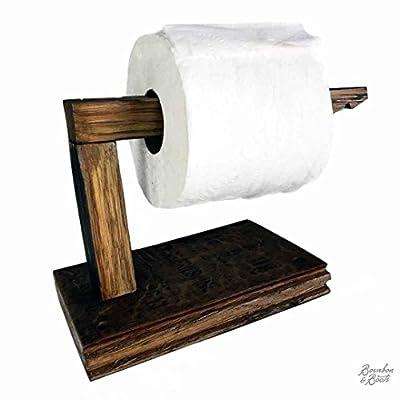 Reclaimed Bourbon Barrel Toilet Paper Holder
